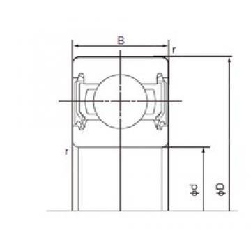 50 mm x 80 mm x 16 mm  NACHI 6010-2NSE9 deep groove ball bearings