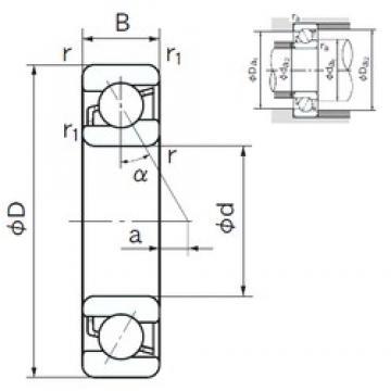50 mm x 90 mm x 20 mm  NACHI 7210 angular contact ball bearings