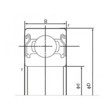 65 mm x 85 mm x 10 mm  NACHI 6813ZZ deep groove ball bearings