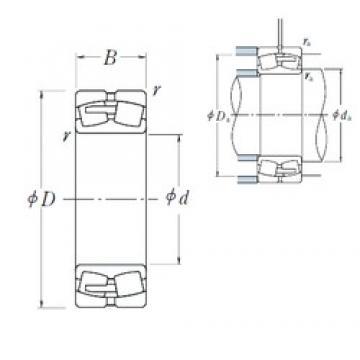 630 mm x 920 mm x 212 mm  NSK 230/630CAE4 spherical roller bearings