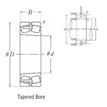 190 mm x 400 mm x 132 mm  NSK 22338CAKE4 spherical roller bearings