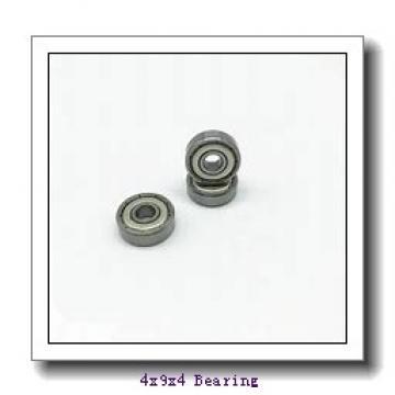 4 mm x 9 mm x 4 mm  SKF W638/4-2Z deep groove ball bearings