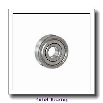 4 mm x 9 mm x 4 mm  ISO 618/4-2RS deep groove ball bearings