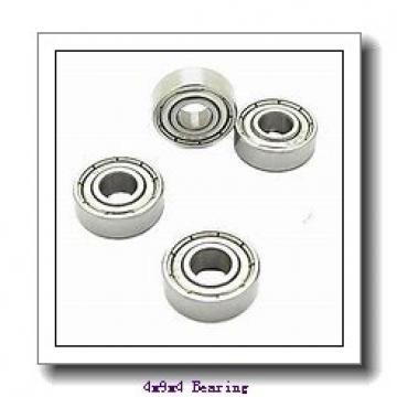 4 mm x 9 mm x 4 mm  Loyal FL618/4 ZZ deep groove ball bearings