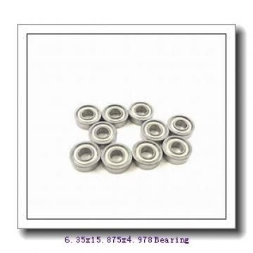 6,35 mm x 15,875 mm x 4,978 mm  SKF D/W R4-2RS1 deep groove ball bearings