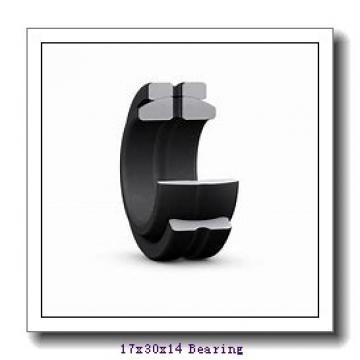 17 mm x 30 mm x 14 mm  INA GAR 17 UK plain bearings