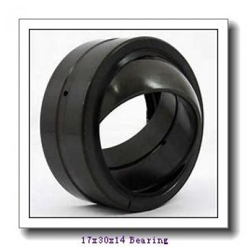 17 mm x 30 mm x 14 mm  ISO GE17DO-2RS plain bearings