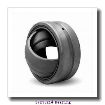 17 mm x 30 mm x 14 mm  INA GAR 17 DO plain bearings