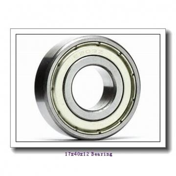 17 mm x 40 mm x 12 mm  KBC 6203DD deep groove ball bearings