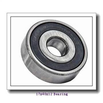 17 mm x 40 mm x 12 mm  KBC 6203 deep groove ball bearings