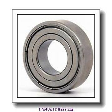 17 mm x 40 mm x 12 mm  KOYO 6203 deep groove ball bearings