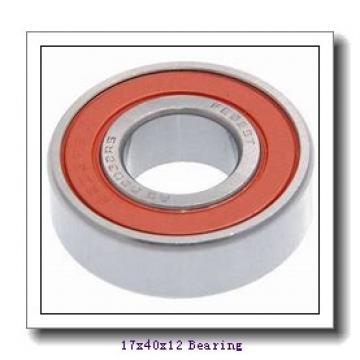 17 mm x 40 mm x 12 mm  FBJ 88503 deep groove ball bearings