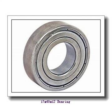 17 mm x 40 mm x 12 mm  NACHI 6203NKE deep groove ball bearings