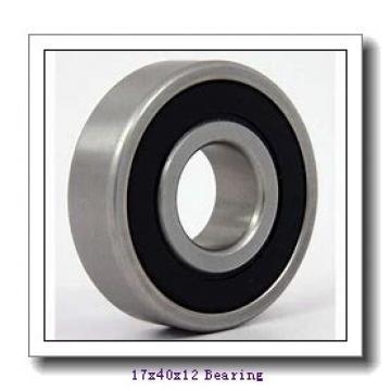 17 mm x 40 mm x 12 mm  NSK 6203NR deep groove ball bearings