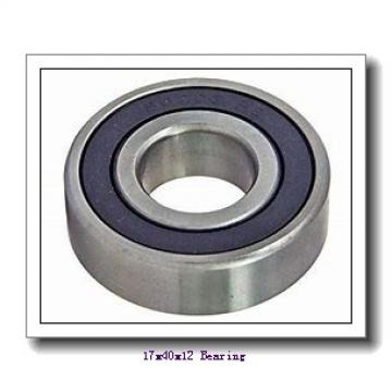 17,000 mm x 40,000 mm x 12,000 mm  NTN NU203 cylindrical roller bearings