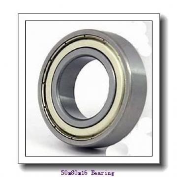 50 mm x 80 mm x 16 mm  NTN 7010DB angular contact ball bearings