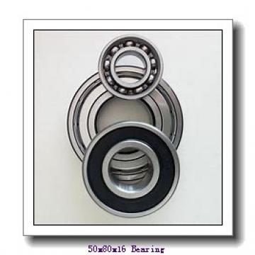 50 mm x 80 mm x 16 mm  KOYO 3NCHAD010CA angular contact ball bearings