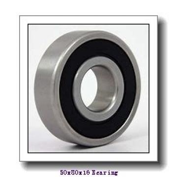50 mm x 80 mm x 16 mm  FBJ 6010 deep groove ball bearings