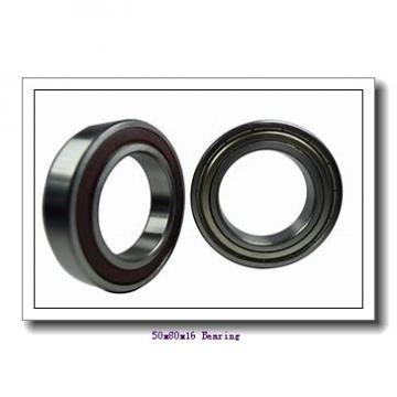 50 mm x 80 mm x 16 mm  KOYO 3NCHAR010C angular contact ball bearings