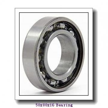50 mm x 80 mm x 16 mm  NSK 6010NR deep groove ball bearings