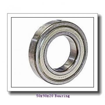 50 mm x 90 mm x 20 mm  NSK 1210 self aligning ball bearings
