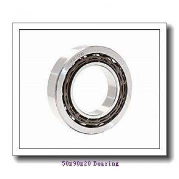 50,000 mm x 90,000 mm x 20,000 mm  NTN NF210E cylindrical roller bearings