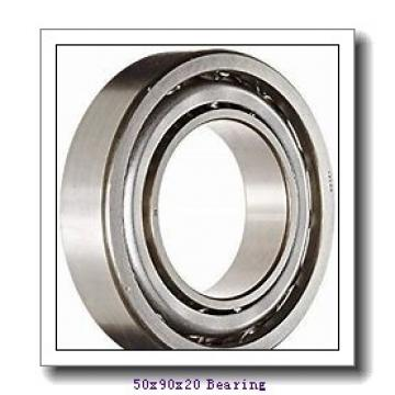 50 mm x 90 mm x 20 mm  Loyal 7210 A angular contact ball bearings