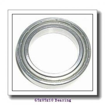65 mm x 85 mm x 10 mm  NACHI 6813NR deep groove ball bearings