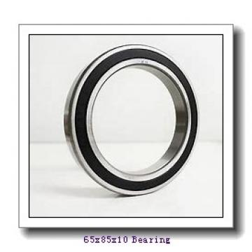 65 mm x 85 mm x 10 mm  NKE 61813 deep groove ball bearings