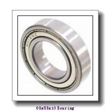 65 mm x 85 mm x 10 mm  ZEN 61813-2Z deep groove ball bearings
