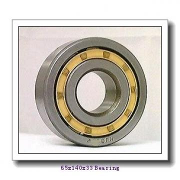 65 mm x 140 mm x 33 mm  NACHI 7313CDF angular contact ball bearings