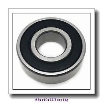 65 mm x 140 mm x 33 mm  PFI 6313-2RS C3 deep groove ball bearings