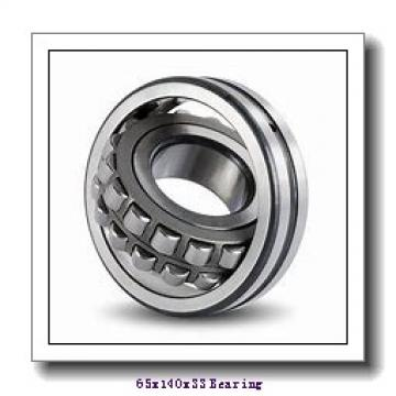65 mm x 140 mm x 33 mm  ISB 6313-ZZ deep groove ball bearings