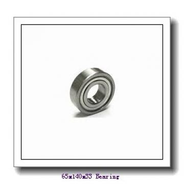 65 mm x 140 mm x 33 mm  ISO 7313 C angular contact ball bearings