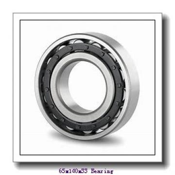 65 mm x 140 mm x 33 mm  NKE 6313-Z-NR deep groove ball bearings