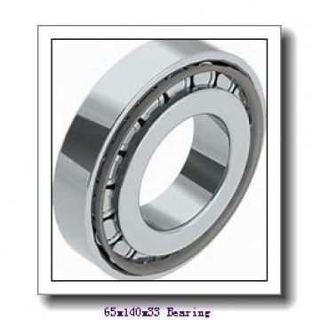 65 mm x 140 mm x 33 mm  NACHI NU 313 cylindrical roller bearings