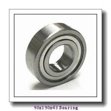 90 mm x 190 mm x 43 mm  Loyal 21318 KCW33+AH318 spherical roller bearings