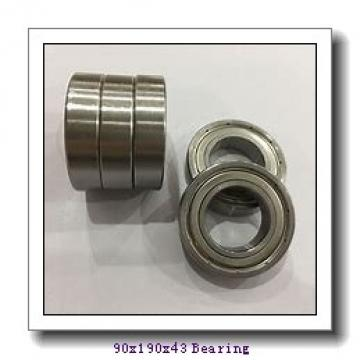 90 mm x 190 mm x 43 mm  NKE NJ318-E-MPA+HJ318-E cylindrical roller bearings
