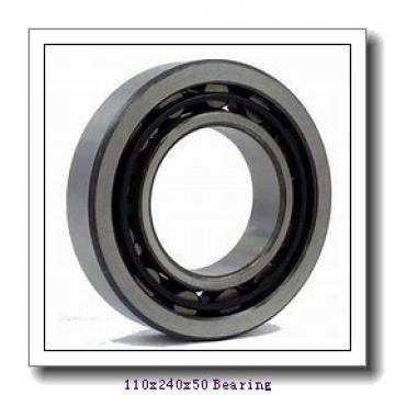 110 mm x 240 mm x 50 mm  NSK NJ322EM cylindrical roller bearings