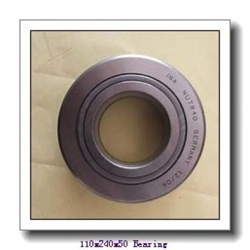 110 mm x 240 mm x 50 mm  NACHI 7322CDT angular contact ball bearings
