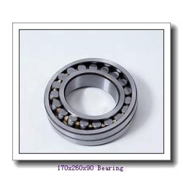 170 mm x 260 mm x 90 mm  ISO 24034 K30CW33+AH24034 spherical roller bearings