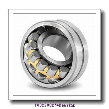 180 mm x 280 mm x 74 mm  Loyal NF3036 cylindrical roller bearings