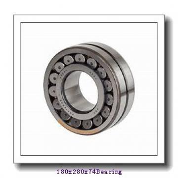 180 mm x 280 mm x 74 mm  ISO NN3036 K cylindrical roller bearings