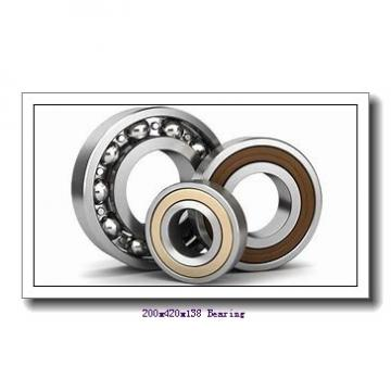 200 mm x 420 mm x 138 mm  Loyal 22340 CW33 spherical roller bearings