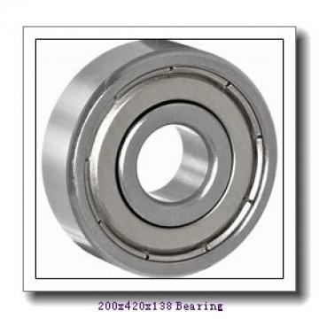 200 mm x 420 mm x 138 mm  NACHI 22340EK cylindrical roller bearings