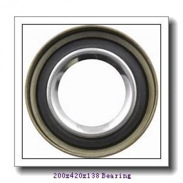 200 mm x 420 mm x 138 mm  Loyal NP2340 cylindrical roller bearings