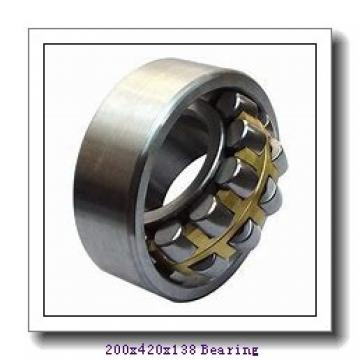 200 mm x 420 mm x 138 mm  NSK NUP2340EM cylindrical roller bearings