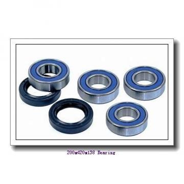200 mm x 420 mm x 138 mm  NACHI 22340E cylindrical roller bearings