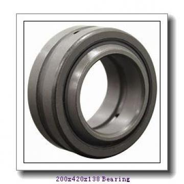 200 mm x 420 mm x 138 mm  NACHI NJ 2340 cylindrical roller bearings