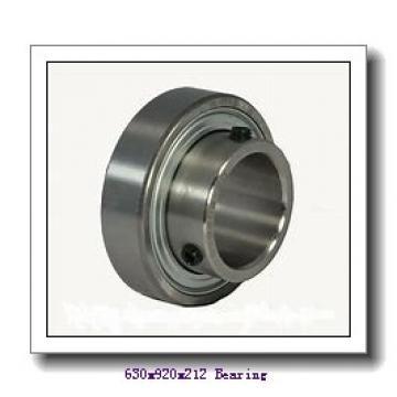 630 mm x 920 mm x 212 mm  NKE 230/630-K-MB-W33+OH30/630-H spherical roller bearings